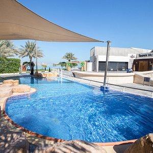 The Pool at the Hilton Doha