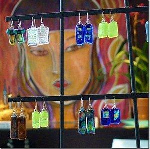 Paintings & Glass Jewelry