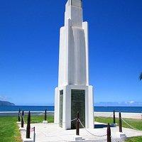 monumento em Haleiwa