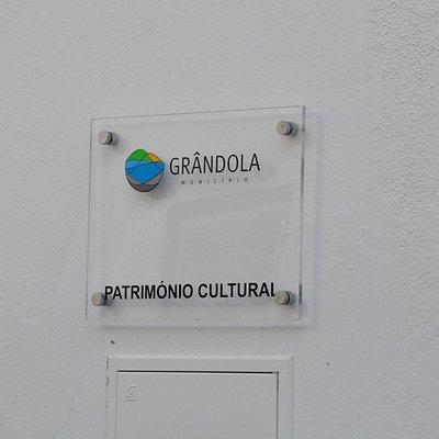 Tablet on the façade.
