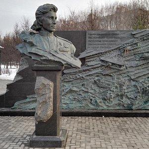 памятник - Распоповой Нине Максимовне