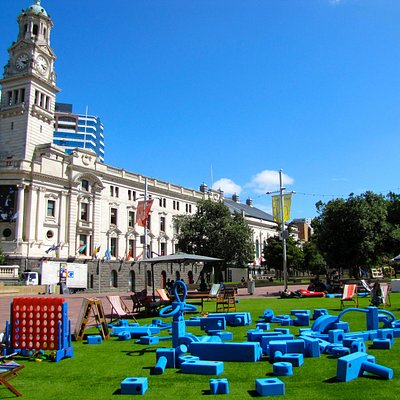 Town Hall and Aotea Square