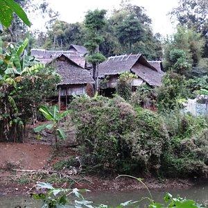 Hilltribes village, Чианграй.