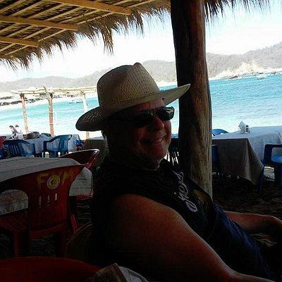 Relaxing on Playa San Augustin