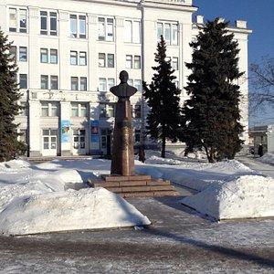 Памятник авиаконструктору С.В. Ильюшину