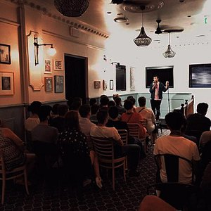 Stand up comedy in Redfern at the Tudor Hotel