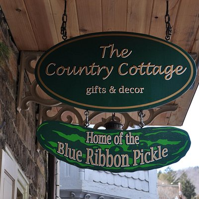The Country Cottage, Home of the Blue Ribbon Pickle