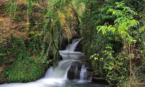 Waterfall in Brieva de Cameros