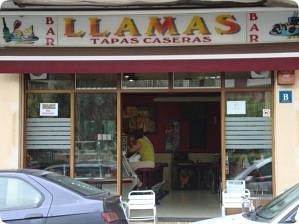 Bar Llamas