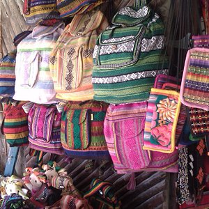 chiapas fabrics and purses pto morelos flea market