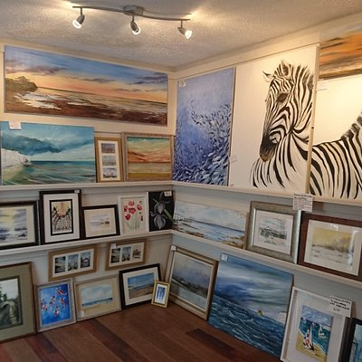 Inside The Little Art Gallery