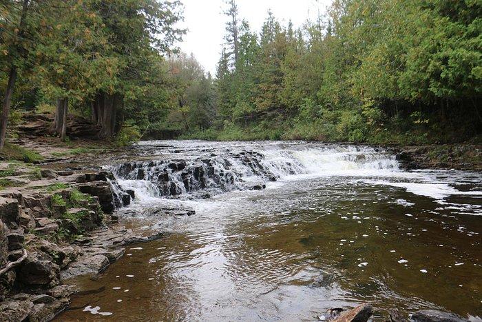Ocqueoc Falls in the Fall '15