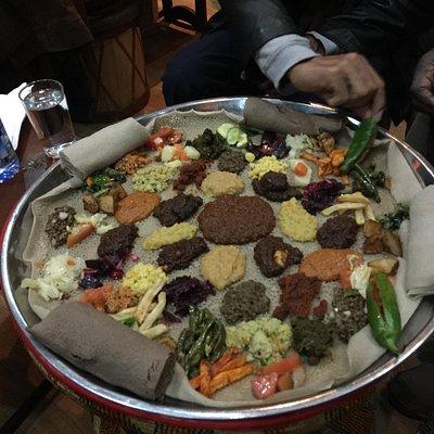 Ethiopian traditional cuisine