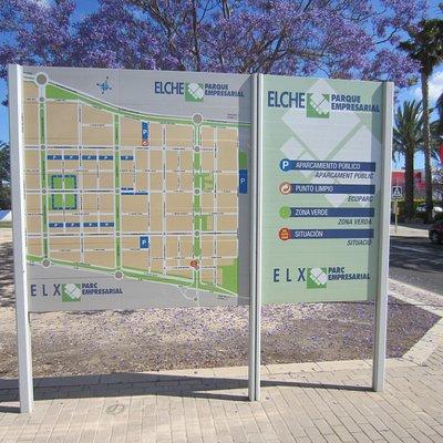 Карта Elche Parque Empresarial
