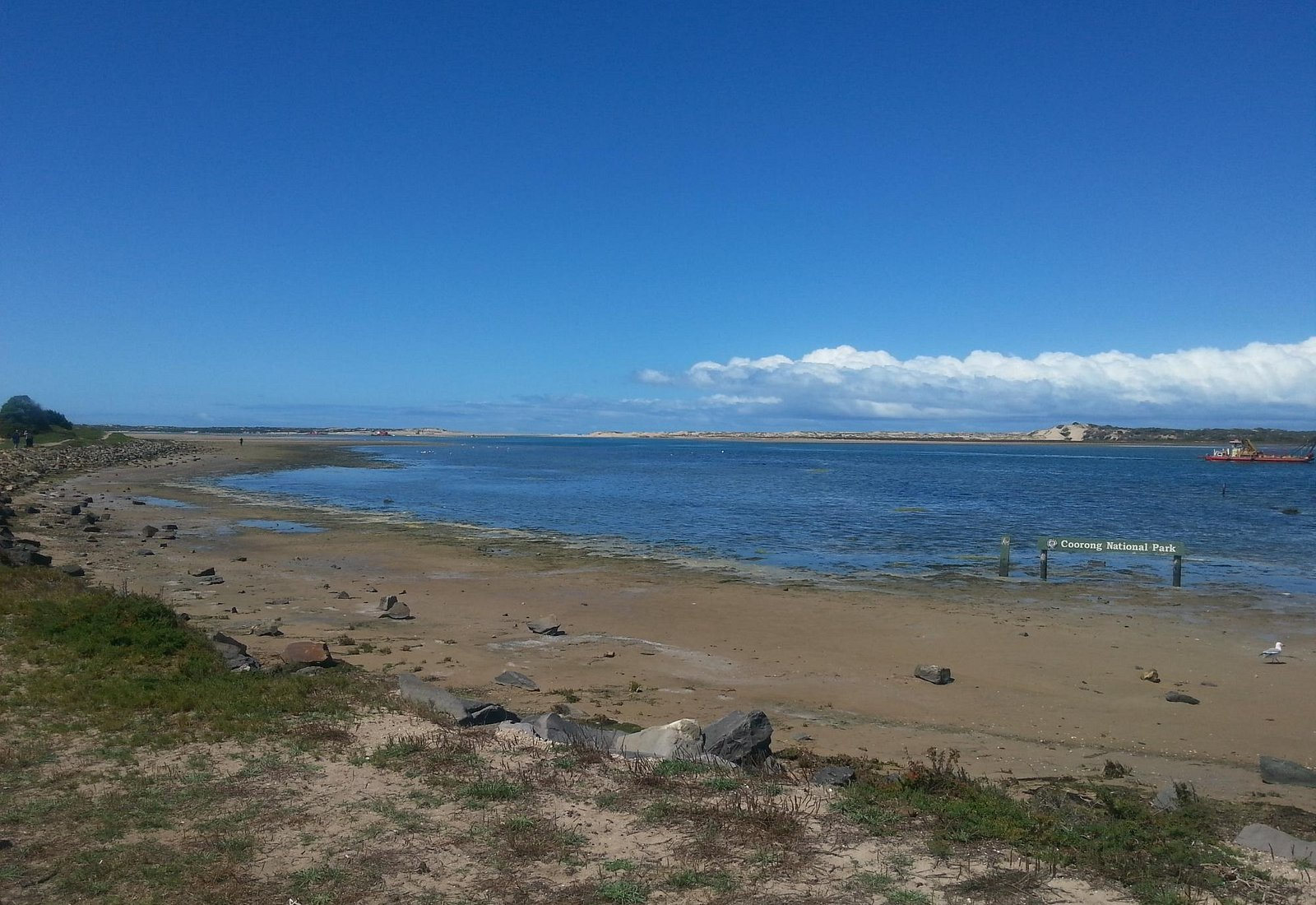 Goolwa Channel to the Murray Mouth. This where the Coorong National Park begins.