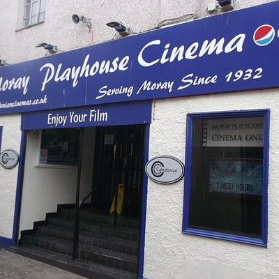 Photo of Moray Playhouse to accompany my recent review