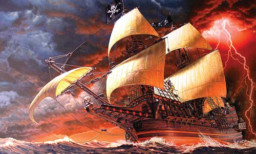 Mission Liberte offers many thrilling experiences, including an escape from Pirates before they