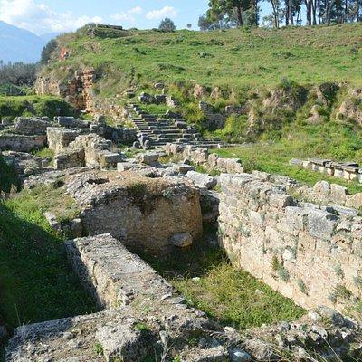 Амфитеатр древней Спарты.
