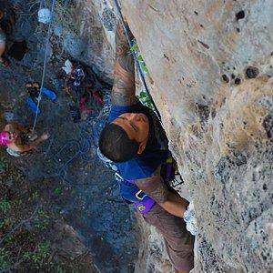 Railay Rock Climbing