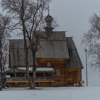 Церковь Николая Чудотворца из Глотова