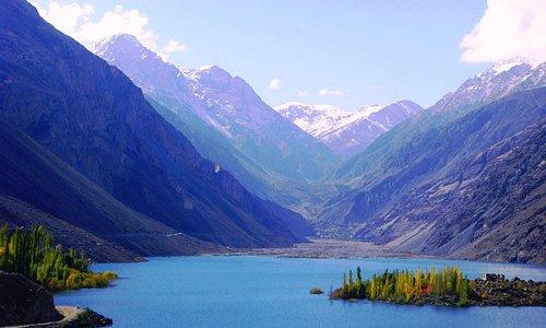 Sadpara lake Skardu pakistan
