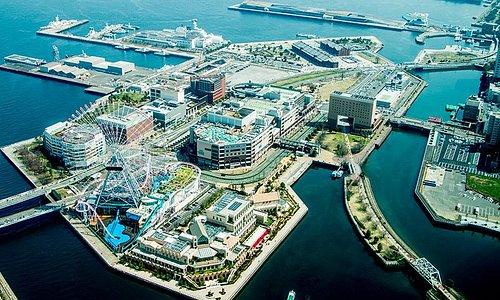 Photo taken from Yokohama Landmark Tower Sky Garden