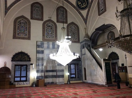 Minber and Mihrab