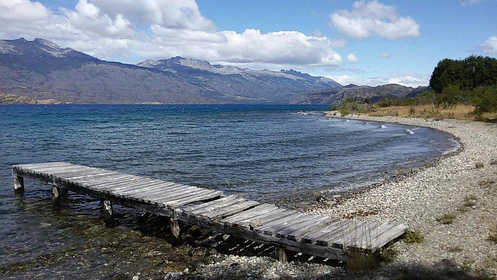 Tercer muelle, Lago Cochrane