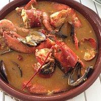 Caldereta/lobster stew