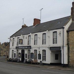 Hermitage Inn from Castle Street