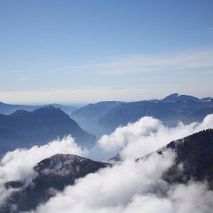 View from Monte Pora