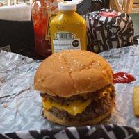 Doublecheese burger & fries