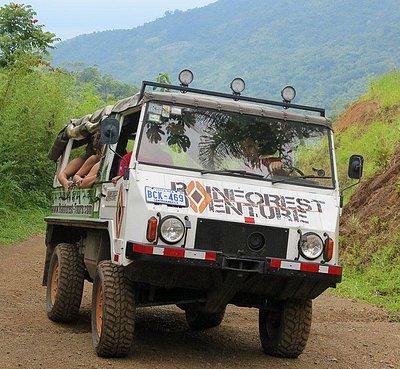 Rainforest Adventures: Signature Rainforest Tour - 4x4 Costa Rica Offroad Tours
