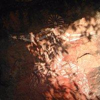 Kakadu National Park, Aboriginal cave paintings, www.matthewlees.com