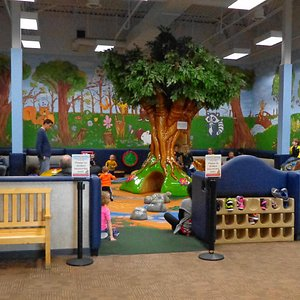 The kid's play area
