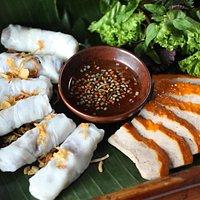 Vietnamese Rice Pancake