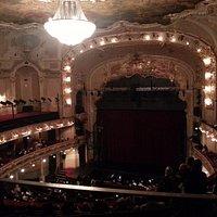 Auditorium and stage