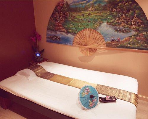 Salles du salon de massage Singjan-Sabaikaya