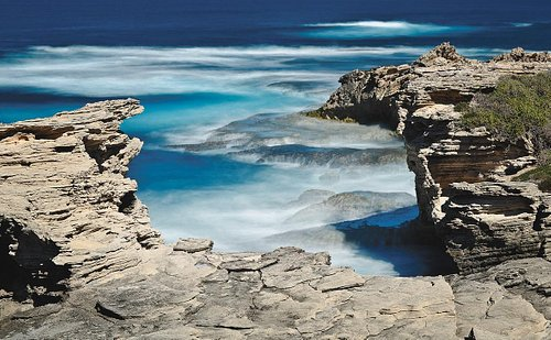 West End is the furthest point westward of Rottnest Island.