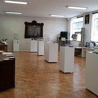 Galeria com instrumental médico