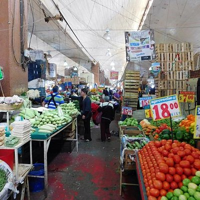 Mercado La Merced Scenes
