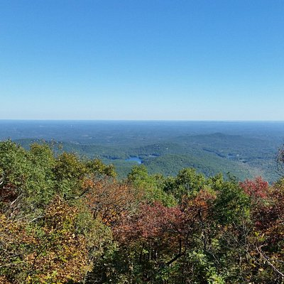 Eagles Rest looking at Lake Pettit