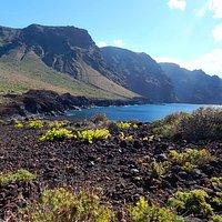 Schöne Berglandschaft am Punta de Teno