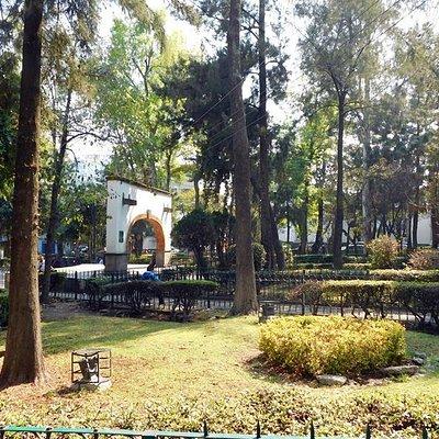 San Jacinto Plaza Area