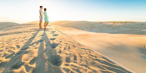 Gunyah Beach Sand Dunes