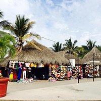 Flea market near Deadmen'a beach.
