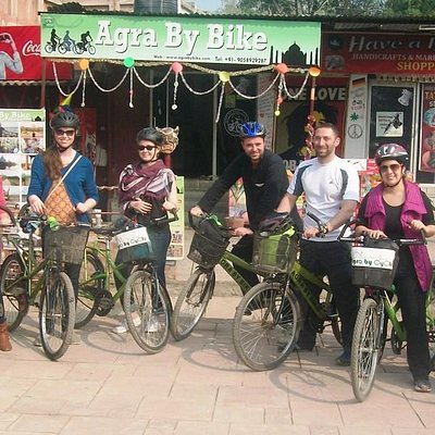 Agra By Bike ( Group Tours )