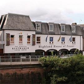 The Scottish Kiltmaker Visitor Centre at Highland House of Fraser