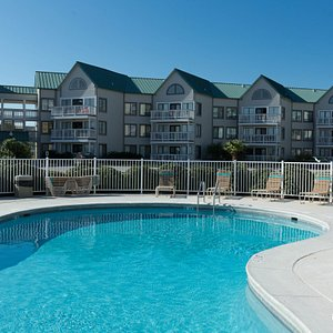 The Beachside Pool at the Gulf Shores Plantation