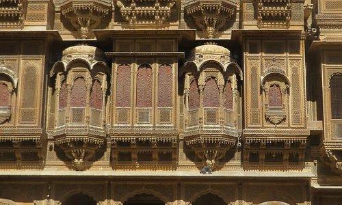 Jaisalmer - a haveli